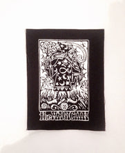 Load image into Gallery viewer, Punk Patches - Tarot Card Sew On Punk - Magican Tarot Patch - Sew On Punk Patch -  Tarot Card Patch - Wizard Patch - Jacket Patches