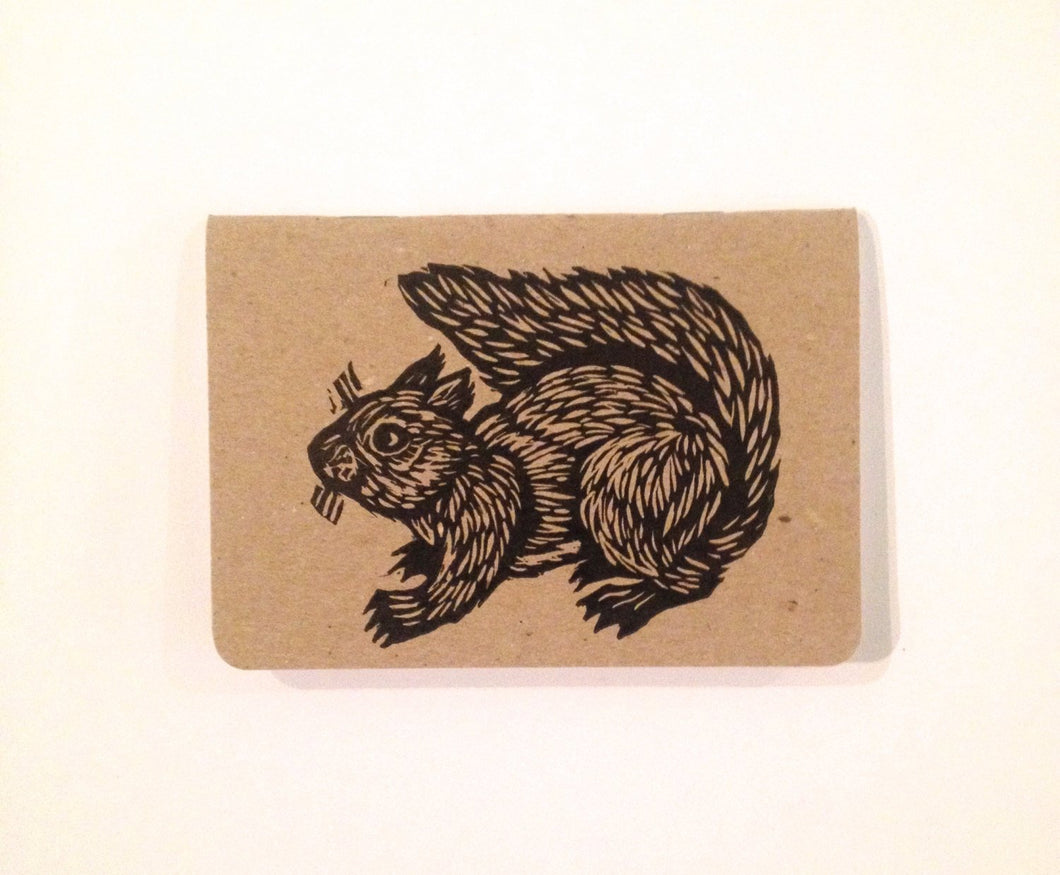 Squirrel Pocket Travel Journal