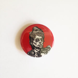 Emma Goldman Pin-back Button
