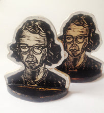 Load image into Gallery viewer, Flannery O'Connor Bookend