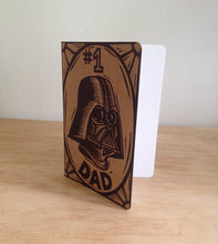 Load image into Gallery viewer, Darth Vader #1 Dad Travel Journal