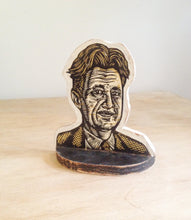 Load image into Gallery viewer, George Orwell Bookend - Home Decor - Bookends - Book Accessories - Literary Art - Author Art - Living Room Decor - Gifts for Writers - 1984