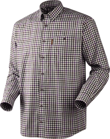 Milford Shirt - Blackberry Check