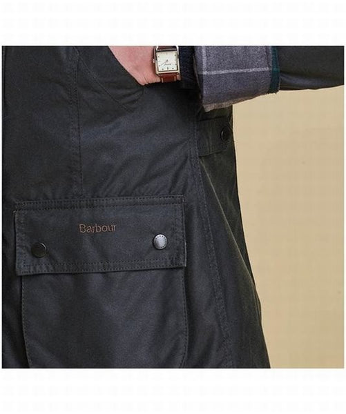 Barbour Straiton Wax jacket - Navy