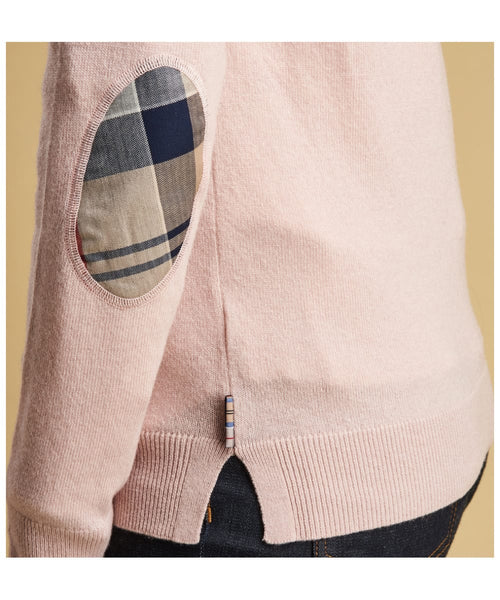 Barbour Pendle Crew BLUSH PINK