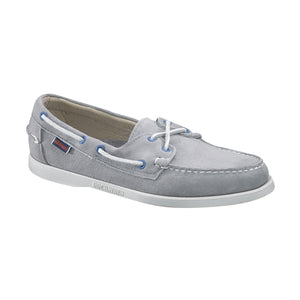 Docksides shoes- Grey suede