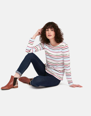 Harbour Colourful Stripe Long Sleeve CMULSTP