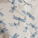 Bowfell Shirt White Dragonfly