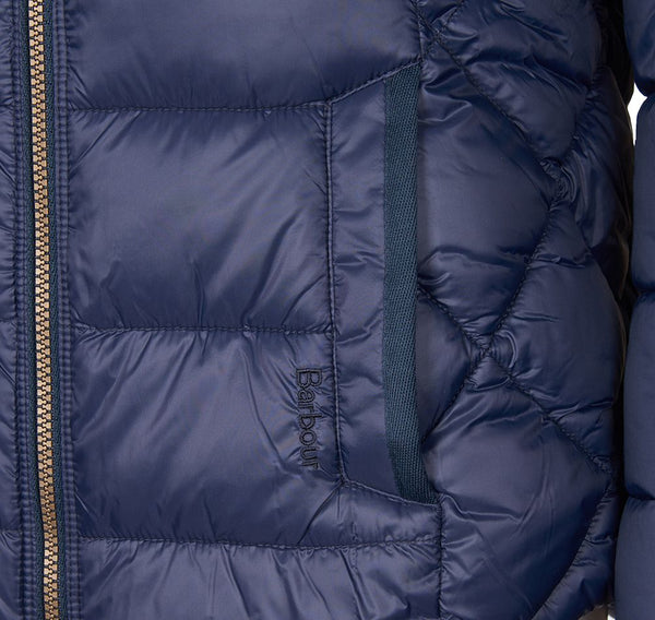 Irving Quilt Navy