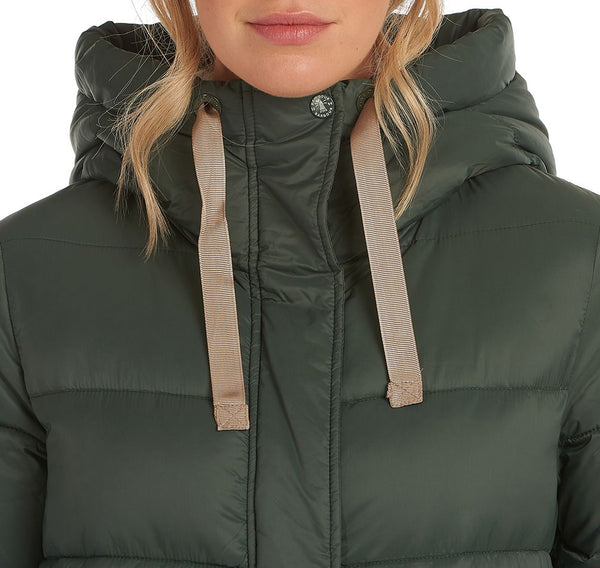 Cassins Quilted Jacket in Isle Green
