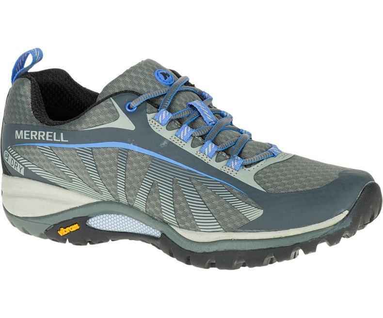 Merrell Siren Edge WP shoes - MONUMENT