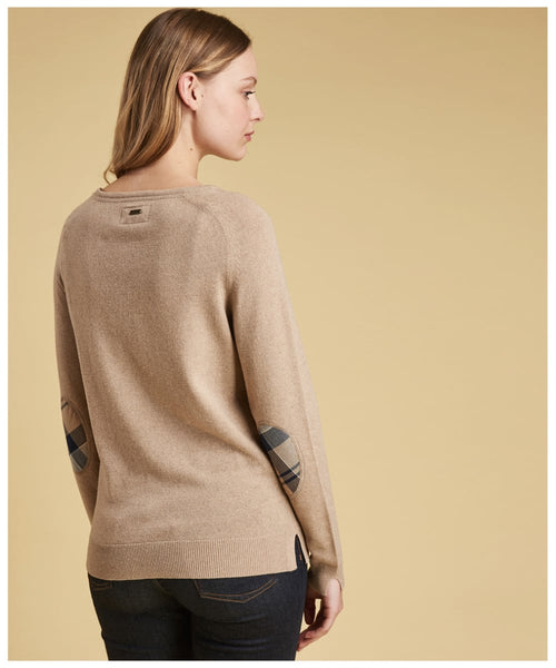 Barbour Pendle crew sweater - Caramel