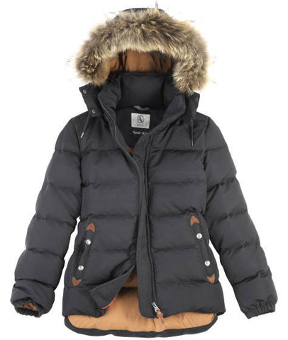 aigle oldhaveny down jacket night