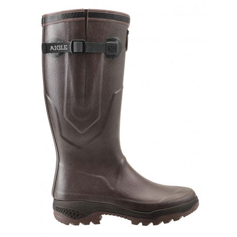 aigle parcours iso 2 wellies brun