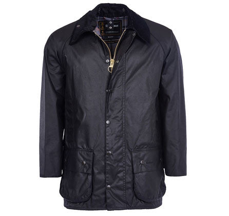 Barbour Beaufort wax jacket black