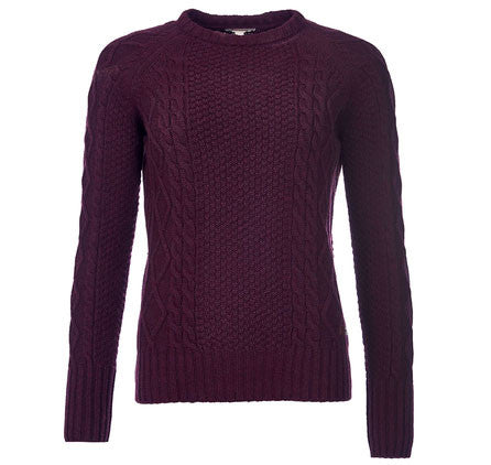 Barbour Beckwith jumper - Bordeaux