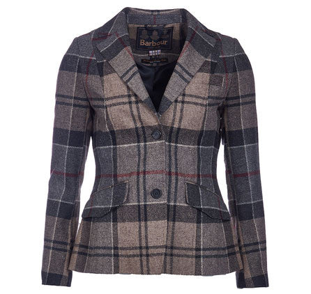 Barbour Dee tailored jacket winter tartan