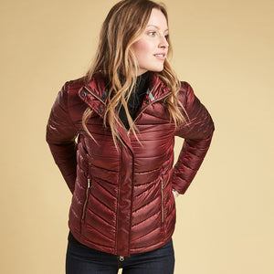 Barbour Vartersay Quilt jacket - Red