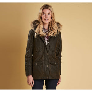 Barbour Ventnor wax jacket - Olive