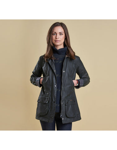 Barbour Straiton Wax NAVY
