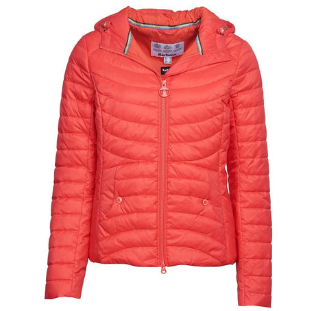 Barbour Ashore Quilted jacket Coral