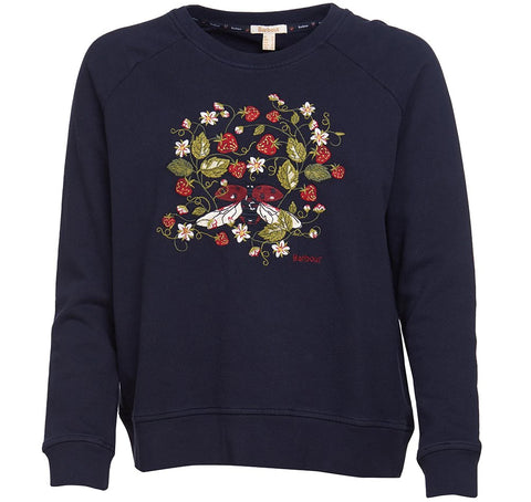 Barbour Crawford sweatshirt Navy