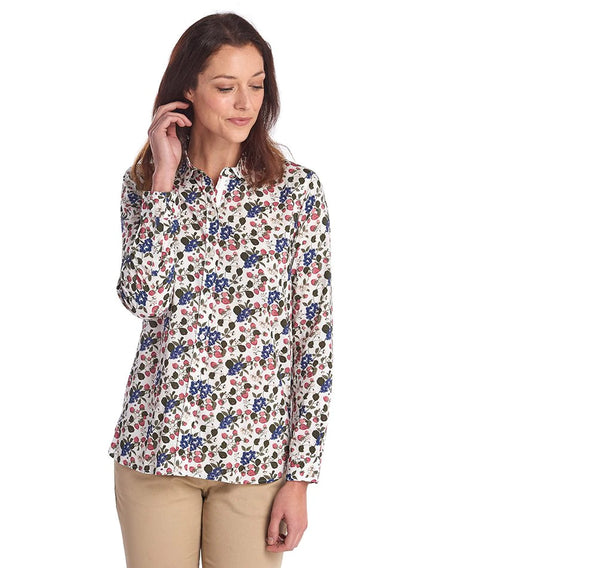 Barbour Everly shirt - strawberry