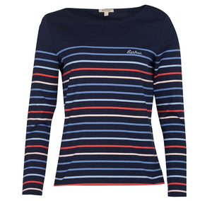 Hawkins Strpe Top Navy/Multi