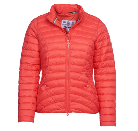 Barbour Shoreward Quilted jacket - Coral