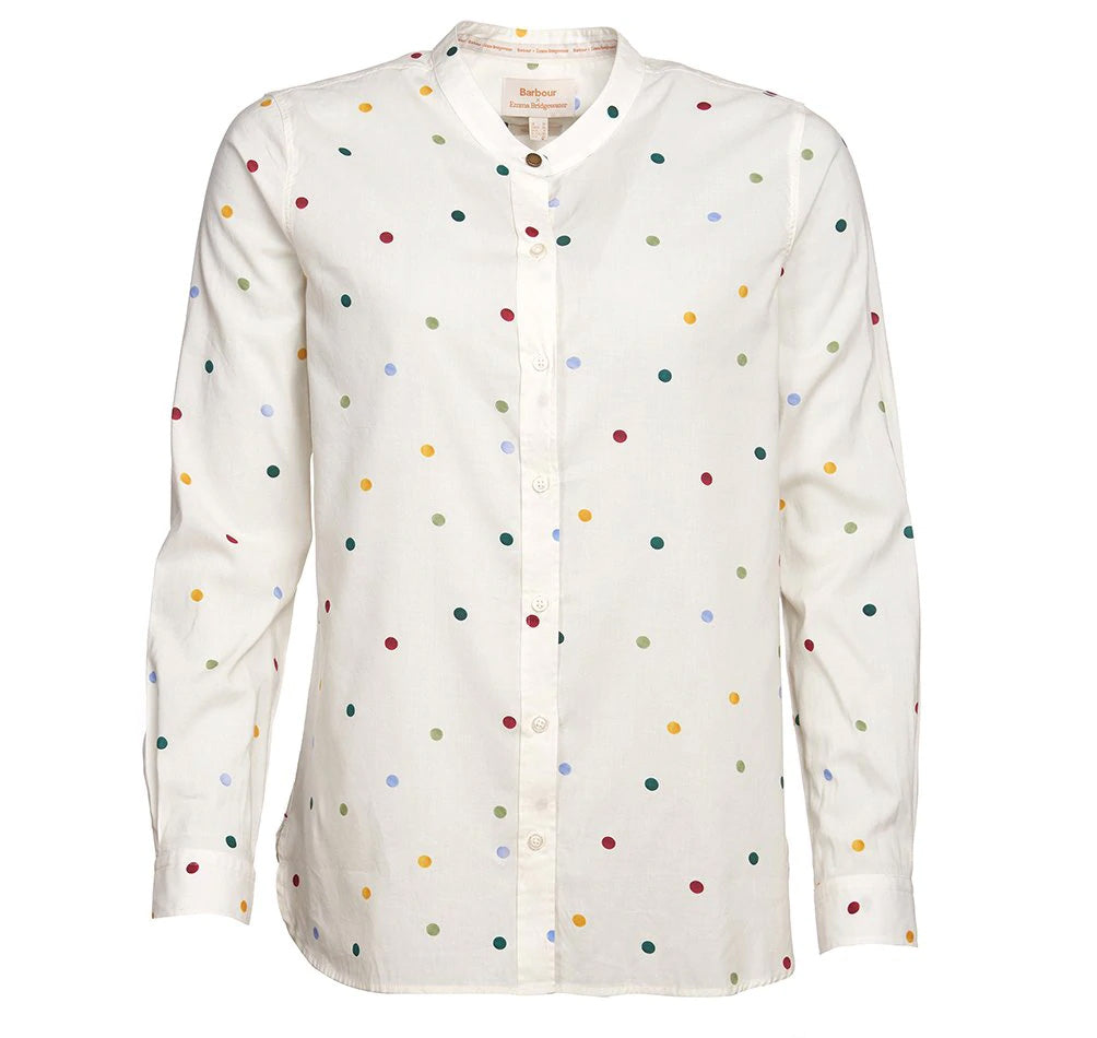 Barbour Spot Shirt - Off white