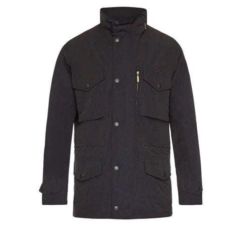 barbour sapper waterproof jacket navy