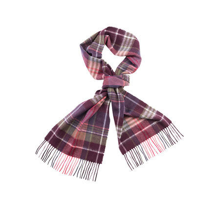 barbour british waterways plaid scarf winter candlebridge