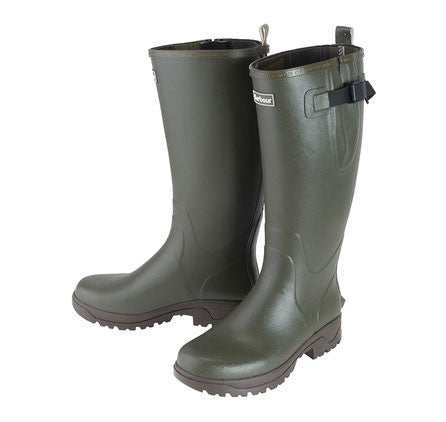 Barbour Tempest wellies in olive
