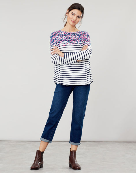 Joules Harbour Light top - Sweetpea