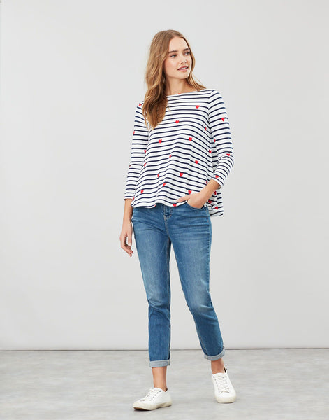 Joules Light Swing Harbour - Heart Stripe