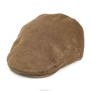 Failsworth concord corduroy cap in tan