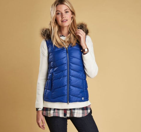 Barbour Bernera Gilet  Seablue