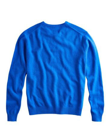Retford v neck jumper - blue