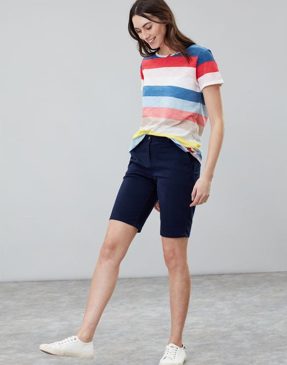 Joules Cruise long chino shorts - French navy