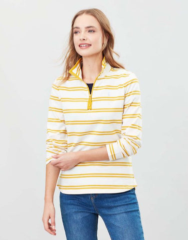 Joules Fairdale sweathirt Gold stripe