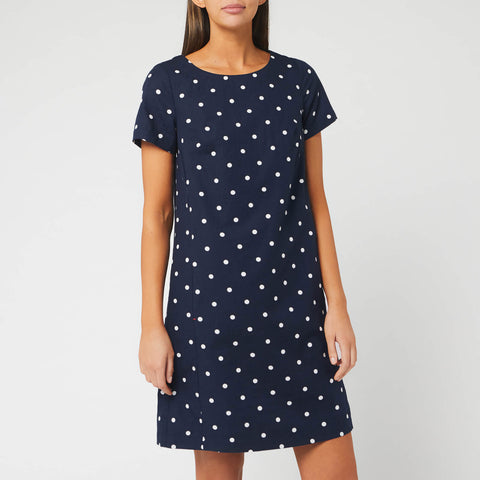 Joules Fifi print dress - Navy spot