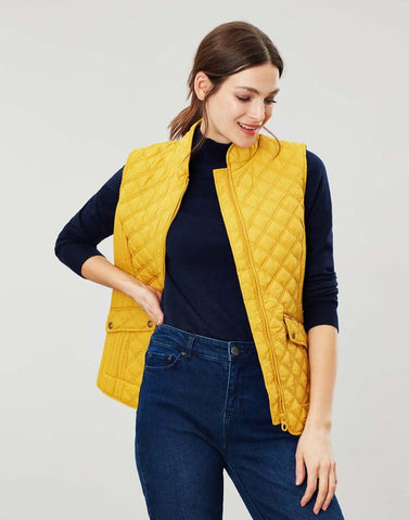Joules Minx gilet Antique gold