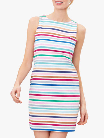 Joules Riva sleeveless stripe dress