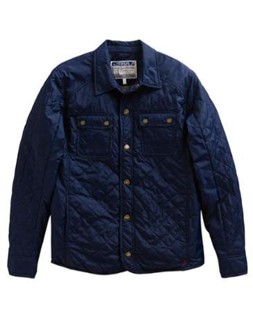 joules whitall quilted jacket marine navy