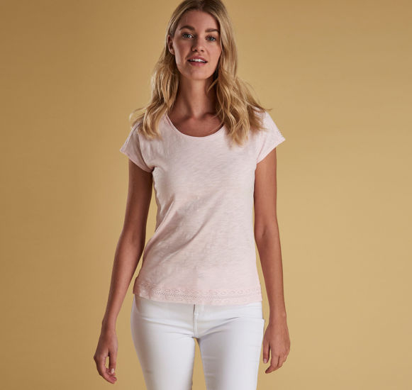 Barbour Seahouse Top - Rose