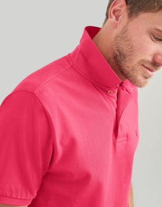 Woody Classic Polo in Pink