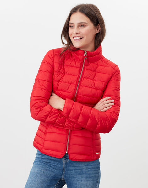 Canterbury Short Padded Jacket in Red