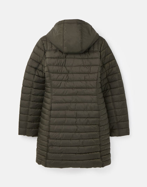 Canterbury Long Heritage Green Lux Padded Jacket