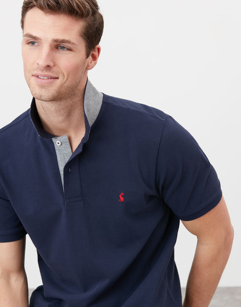Woody Classic Polo Shirt in French Navy