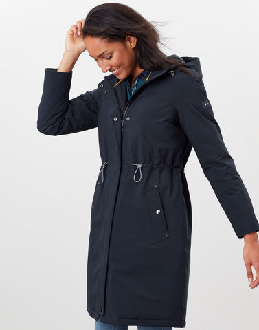 Charlbury Navy Waterproof Raincoat